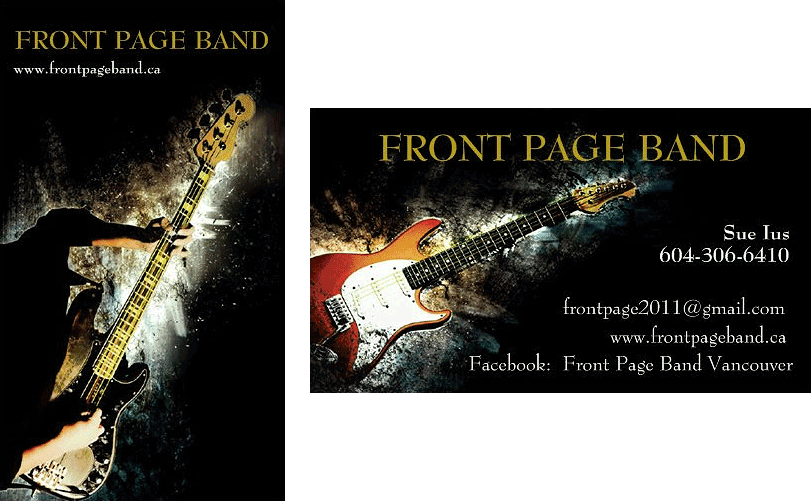 Contact Front Page Band Vancouver